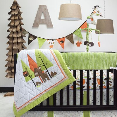 Charming Forest 6 Piece Reversible Quilt Set