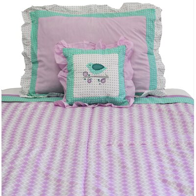 Lovebirds 2 Piece Twin Quilt Set