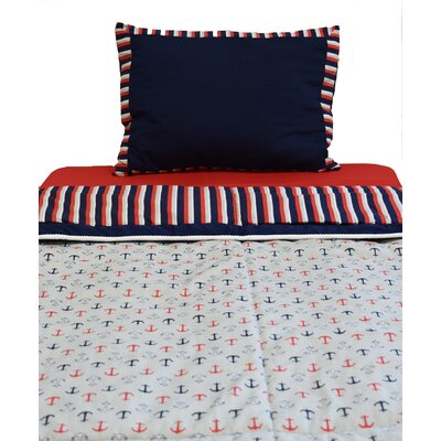 Nautical 2 Piece Twin Comforter Set