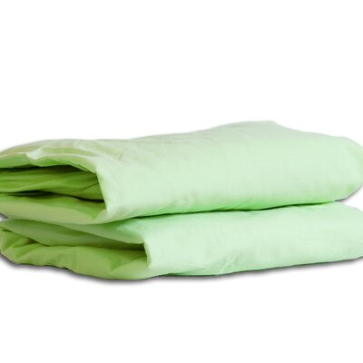 Twin Sheet Set Color: Green