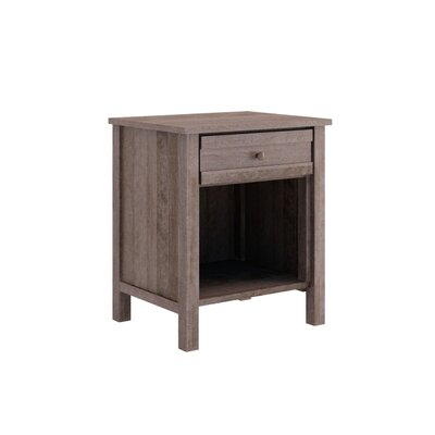 Terrace 1 Drawer Nightstand Color: Java