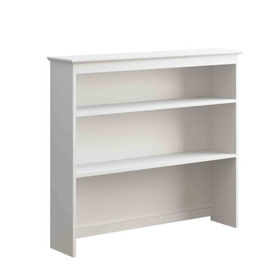 Hastings 41.25 H x 46.50 W Desk Hutch Finish: White