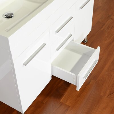Garett Modern 47 Double Bathroom Vanity Set