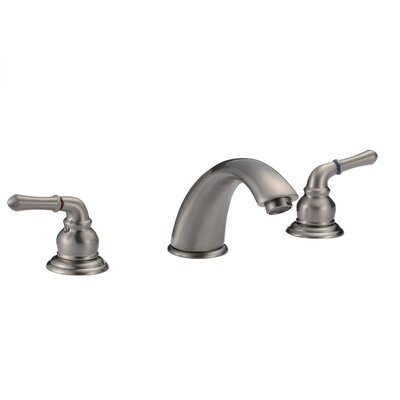 Merlion Widespread Bathroom Faucet Finish: Brushed Nickel