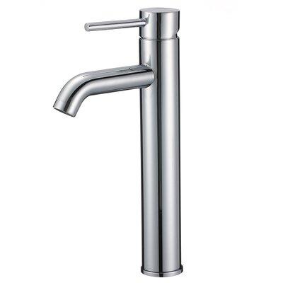 Merlion Single Handle Bathroom Faucet Finish: Chrome