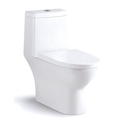 Harappan Dual Flush Elongated One-Piece Toilet