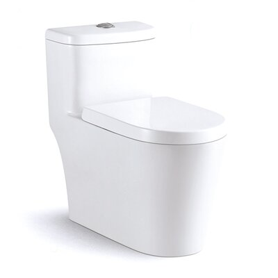 Harappan 1.37 GPF Elongated One-Piece Toilet