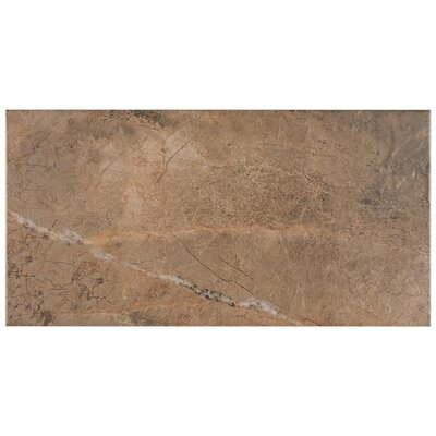 Natura 11.7 x 23.4 Porcelain Field Tile in Gray