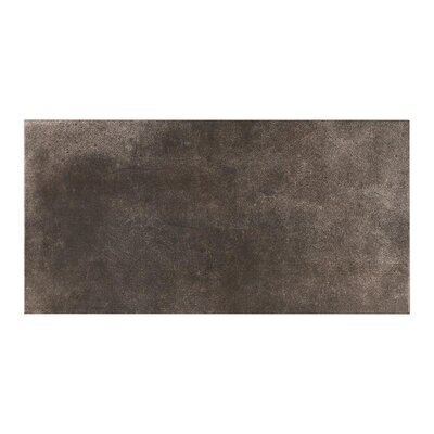 Manhattan Night 11.7 x 23.21 Porcelain Field Tile in Gray