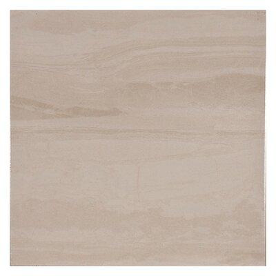 Lava Floor 15.6 x 15.6 Ceramic Field Tile in Bone