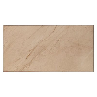 Lenox Wall 11.7 x 23.4 Ceramic Field Tile in Bone