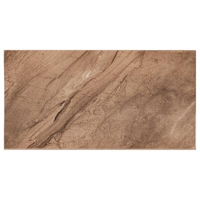 Lenox Wall 11.7 x 23.4 Ceramic Field Tile in Dark Beige