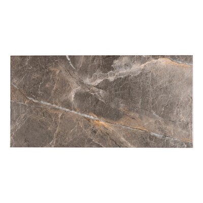 Natura 11.7 x 23.21 Porcelain Field Tile in Anthracite