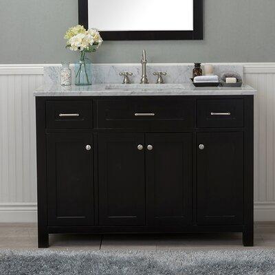 Cecilton 48 Single Bathroom Vanity Finish: Espresso