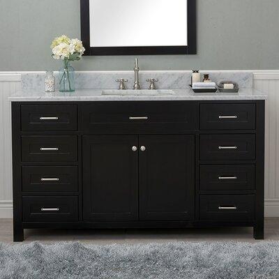 Cecilton 60 Single Bathroom Vanity Finish: Espresso