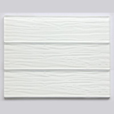 3 x 6 Glass Subway Tile in Glossy White