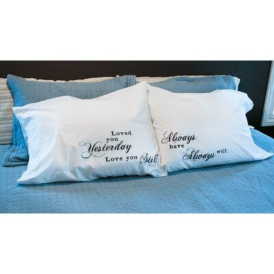 2 Piece Always Pillowcase Set