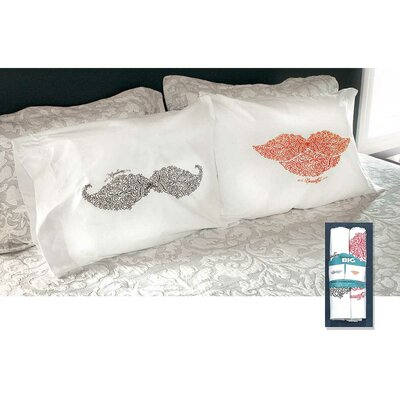 2 Piece Handsome Pillowcase Set