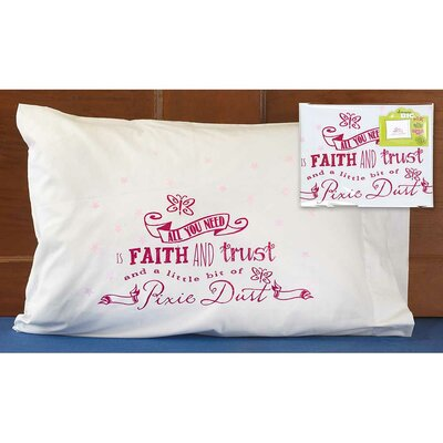 The Dark Pixie Dust Kids Glow in the Dark Pillowcase
