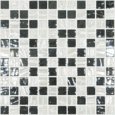 Moon Blends 12.375 W x 12.375 L Eco Glass Mosaic in Moonshine