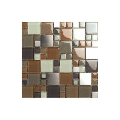 12 x 12 Glass Mosaic Tile