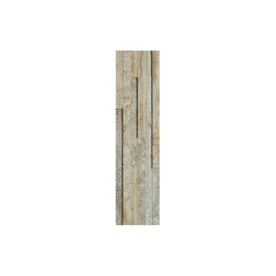 Midtown 6 x 24 Porcelain Mosaic Tile in Textured Beige