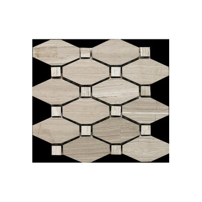 12 x 12 Marble Mosaic Tile in Honed