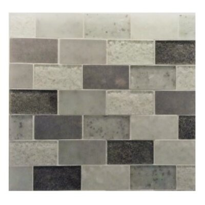 Lakeview 14 x 16 Glass Mosaic Tile in St Barth