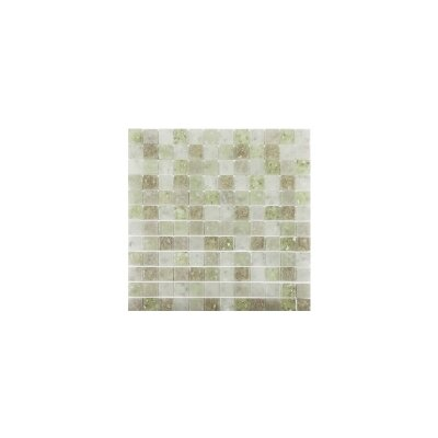 Lakeview 1 x 1 Glass Mosaic Tile in Cayman