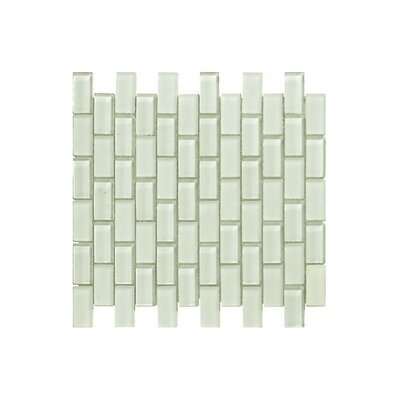 12 x 12 Glass Mosaic Tile in Glossy