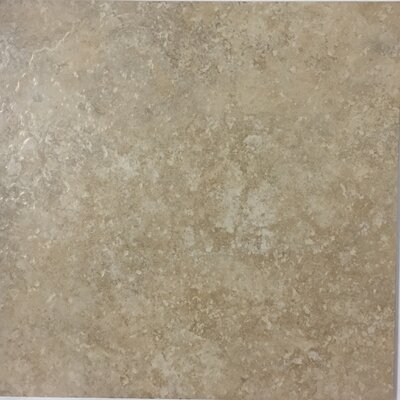 Cristallo Milan 13 x 13 Procelain Field Tile in Taupe