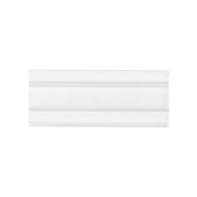 Winter Solstice 2.5 x 6 Ceramic Molding Tile in White