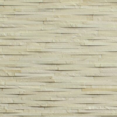 Cladding Stone Splitface Tile in Sandstone