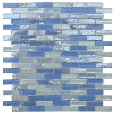Opal 0.63 x 1.88 Glass Mosaic Tile in Victoria Falls