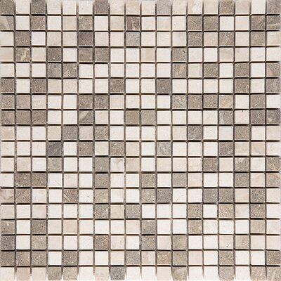 Napoli 0.625 x 0.625 Stone Mosaic Tile Honed