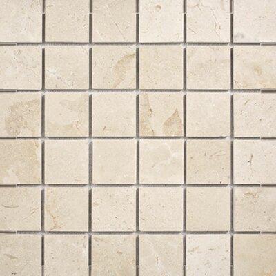 Crema Marfil 2 x 2 Stone Mosaic Tile Polished