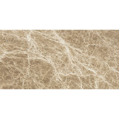 "Emperador 12"" x 24"" Stone Tile in Light Polished PVTL1508 27788098"