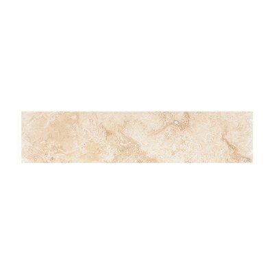 18 x 4 Travertine Field Tile in Ivory Honed