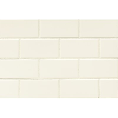 Nantucket 3 x 6 Ceramic Subway Tile in Matte Lighthouse