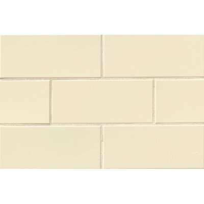 Nantucket 4.25 x 10 Ceramic Subway Tile in Gloss Sanddollar