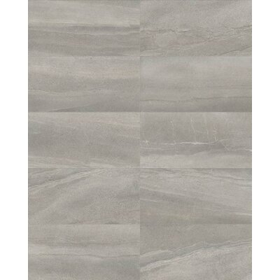 Core 12 x 24 Porcelain Field Tile in Gray