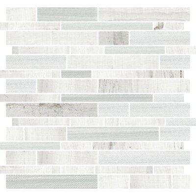 Docklight 12 x 12 Porcelain Mosaic Tile in Wavecrest