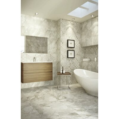 Ikema 12 x 24 Porcelain Field Tile in Blaco