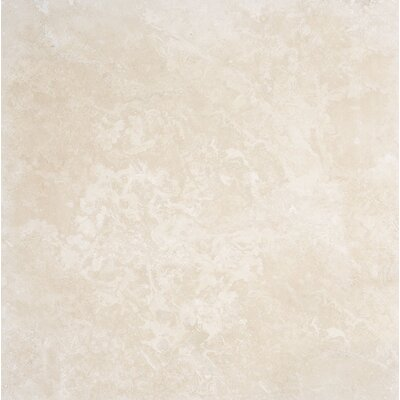 Premium 24 x 24 Stone Tile in Ivory Honed