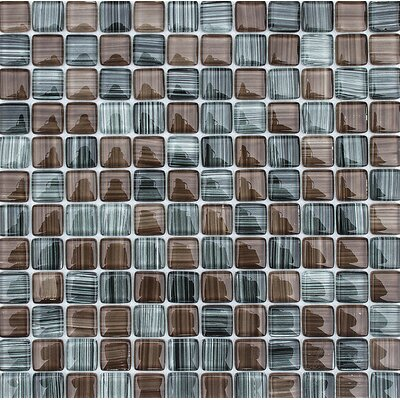 Cayucos 1 x 1 Glass Mosaic Tile