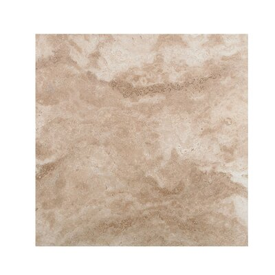 Philadelphia 18 x 18 Travertine Field Tile in Beige