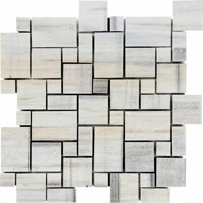 San Marino Mini Versailles Random Sized Stone Mosaic Tile Polished