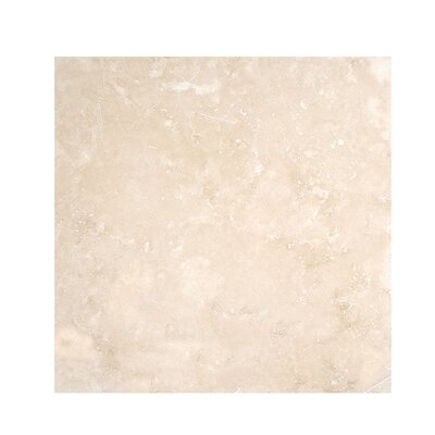 Premium 18 x 18 Travertine Field Tile in Beige