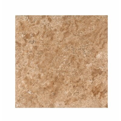 18 x 18 Travertine Field Tile in Light Walnut Honed