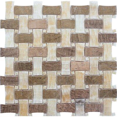 Salinas Basketweave Stone Mosaic Tile